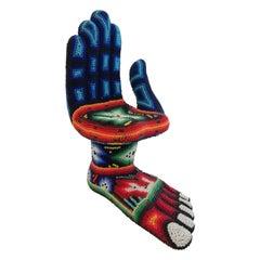Pedro Friedeberg Huichol Beads Hand Feet