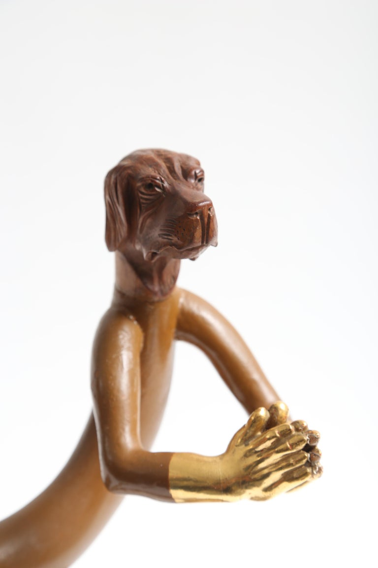 Late 20th Century Pedro Friedeberg Sculpture Closed Hands For Sale