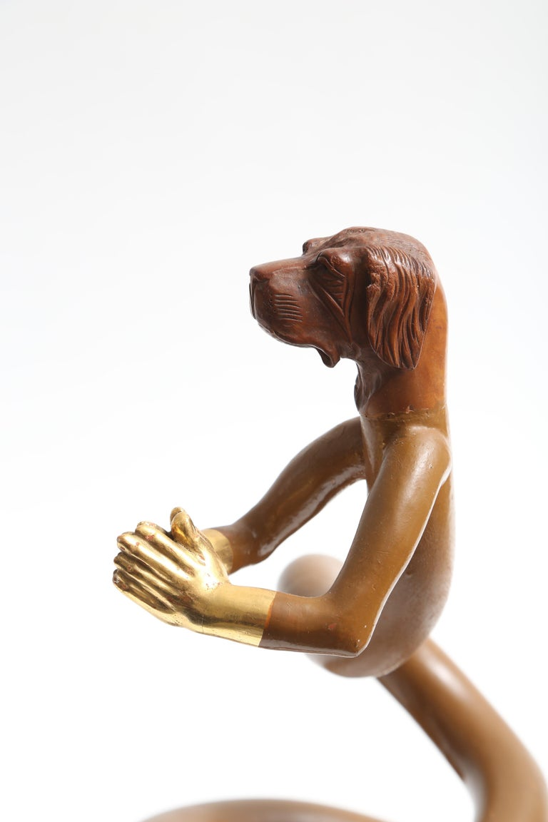 Pedro Friedeberg Sculpture Closed Hands For Sale 2