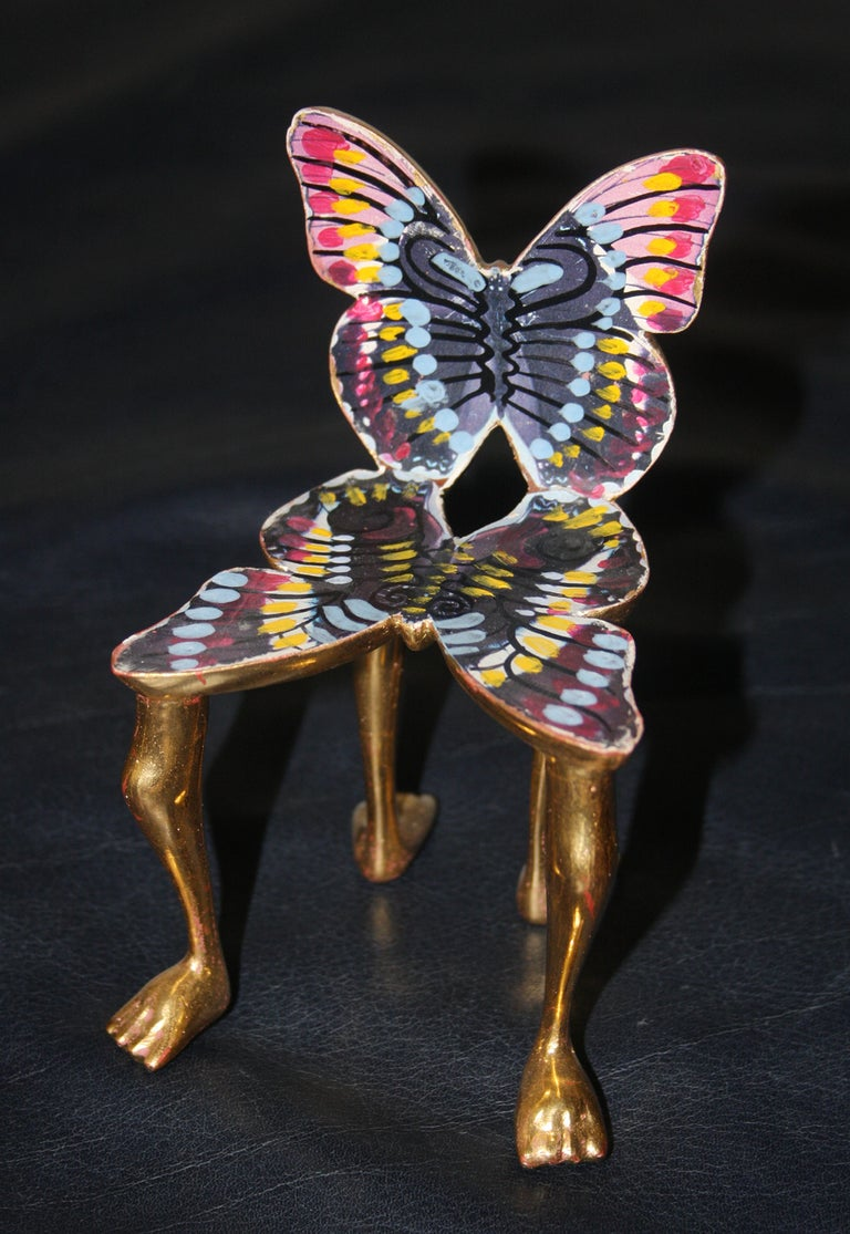 Pedro Friedeberg Figurative Sculpture - Butterfly Chair
