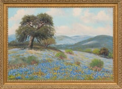 """Bluebonnet""  Texas Hill Country Scene"