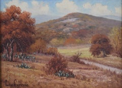 """Hills of Bandera Texas""  Hill Country Scene"