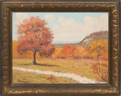 """Texas Autumn""  Texas Hill Country Scene"