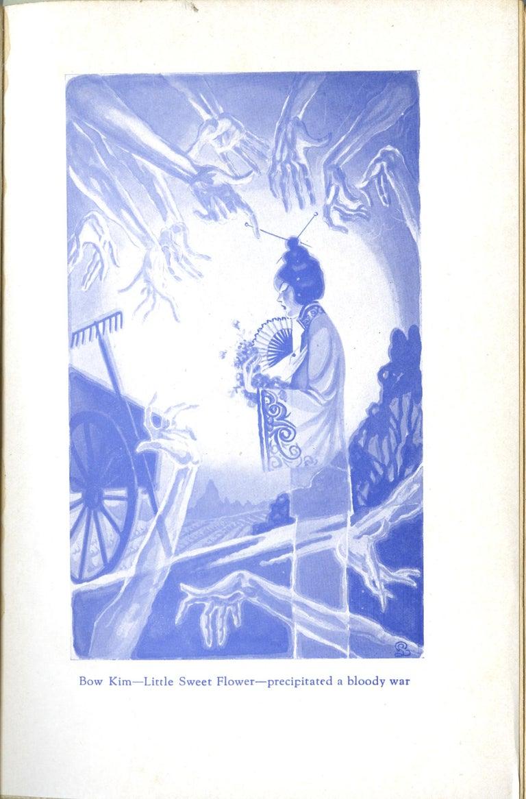 San Francisco Tong War Illustration - Painting by Pedro Llanuza