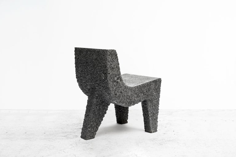 Mexican Pedro Reyes, Metate Chair, Mexico, 2018 For Sale