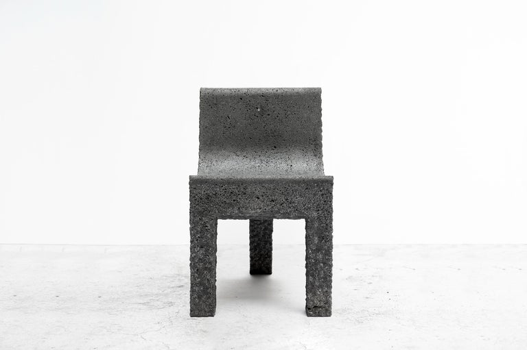 Contemporary Pedro Reyes, Metate Chair, Mexico, 2018 For Sale