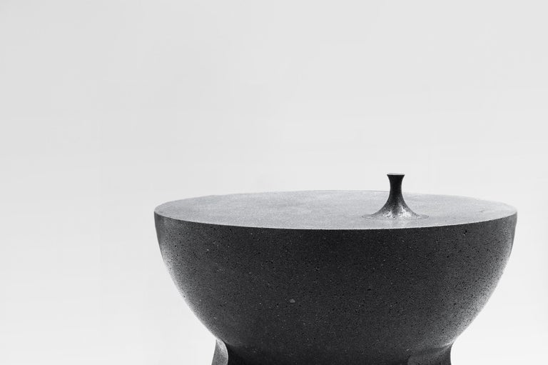 Mexican Pedro Reyes, Molcajete Table 'Mortar Table', Mexico, 2018 For Sale