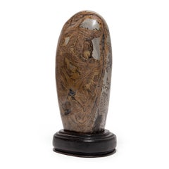 """""""Peeks of Clarity On A Cloudy Day"""" Meditation Stone"""