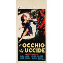 """Peeping Tom / L'Occhio Che Uccide"" Original Italian Film Poster"