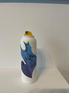 Shake - spray can sculpture