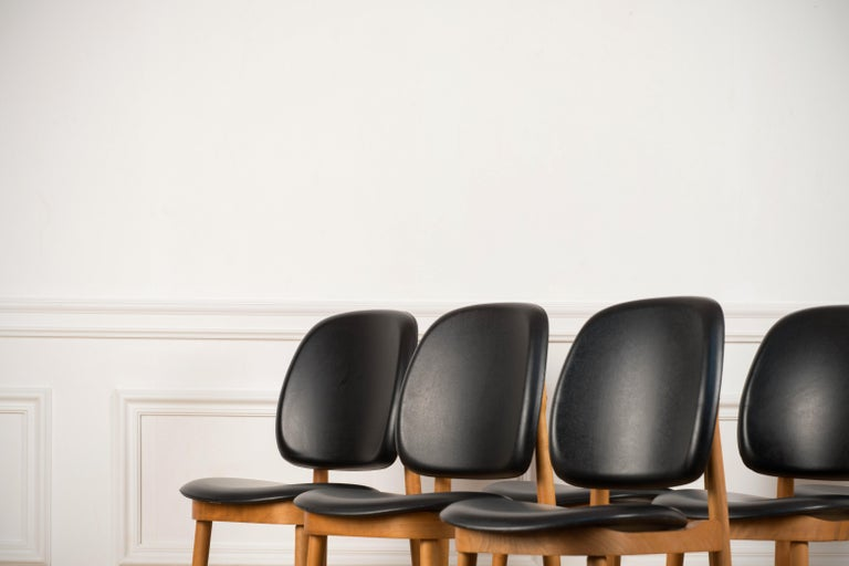'Pegase' Chairs by Pierre Guariche, France, 1960s For Sale 4