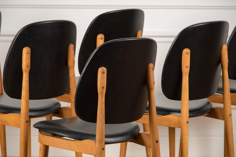 'Pegase' Chairs by Pierre Guariche, France, 1960s For Sale 9