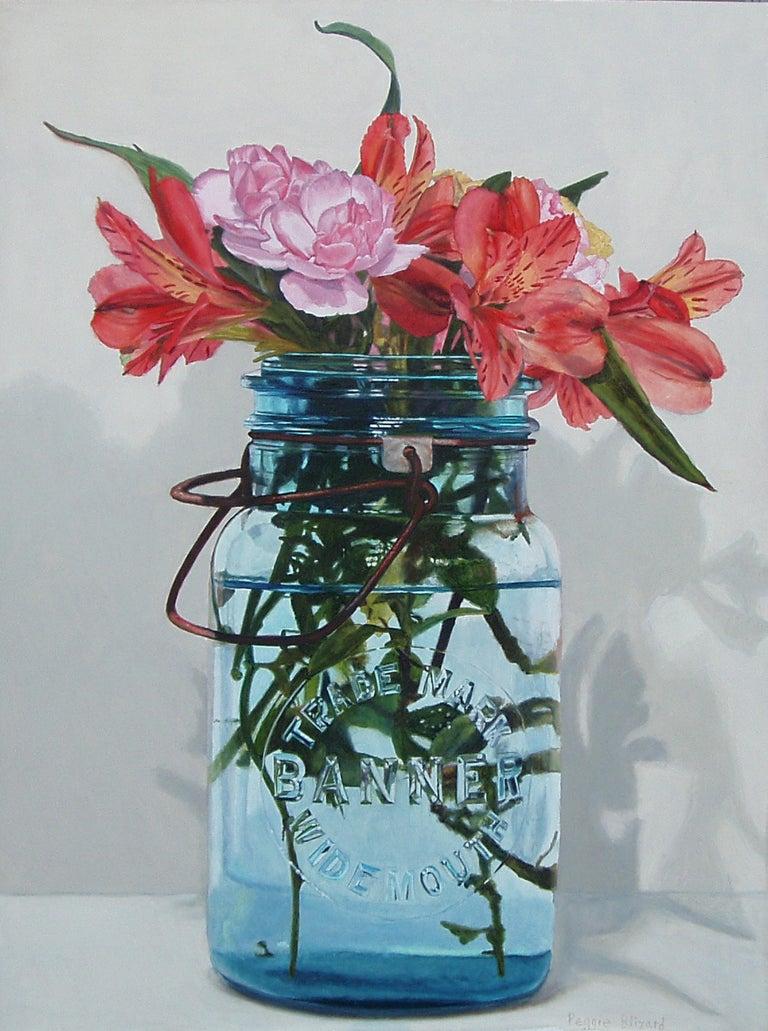 Peggie Blizard Still-Life Painting -  Supermarket Flowers
