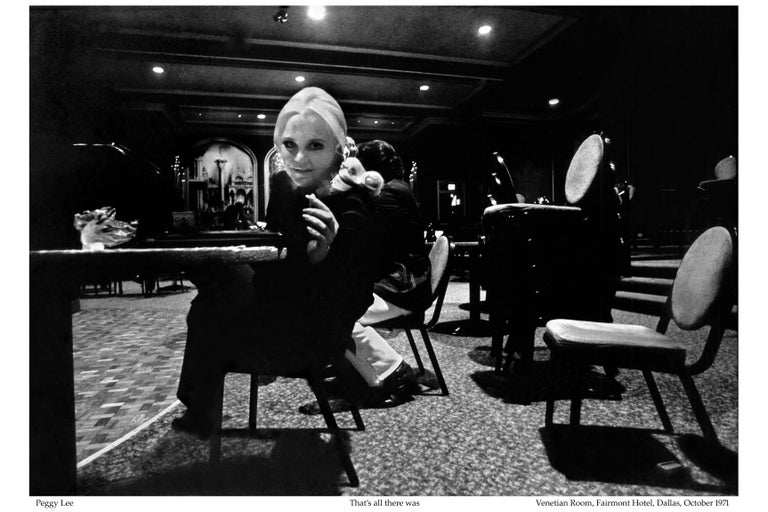 American Peggy Lee, Venetian Room, Limited Edition For Sale