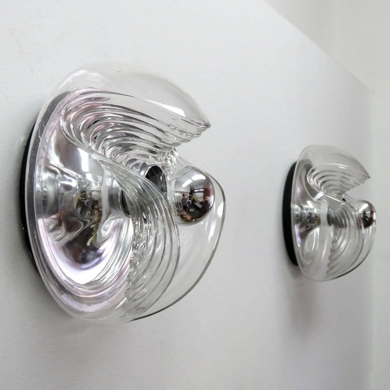 Peill & Putzler Flushmount Lights In Good Condition For Sale In Los Angeles, CA