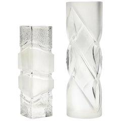 "Peill & Putzler, Vintage Set of Vases Düren Decor ""Malachit"""