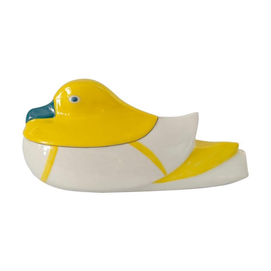 Pekin Duck Art Deco Limoges Theodore Haviland Sandoz