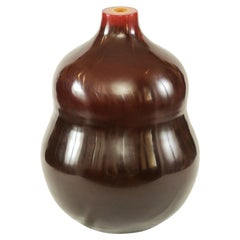 Peking Glass Vase - Robert Kuo for McGuire