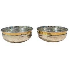 Pekka Piekäinen Silver Bowls Two Pieces