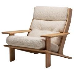 """Pele"" Lounge Chair by Esko Pajamies for Lepokalusto, Finland, 1970s"