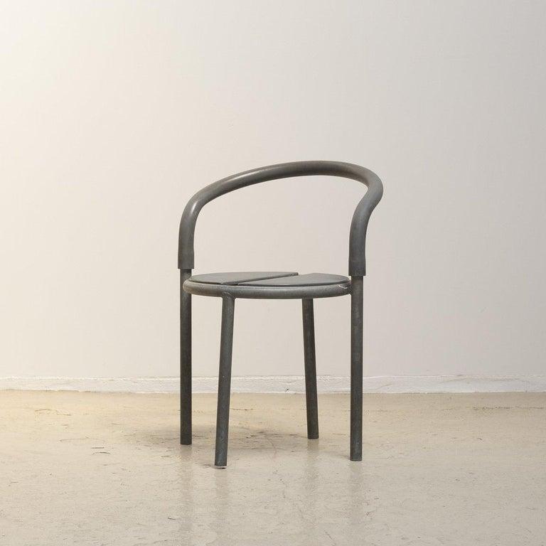 Galvanized Pelikan Cafe Chair for Fritz Hansen For Sale