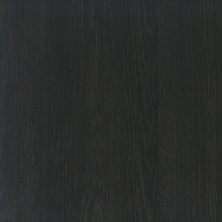 Pelios Bedside Table in Wood Veneer, Marble Surface and Metal Legs For Sale 2