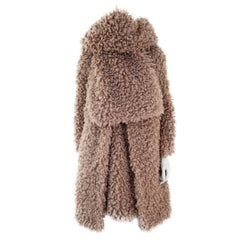 Pelush Faux Fur Curly Boucle' Poodle Coat - Small