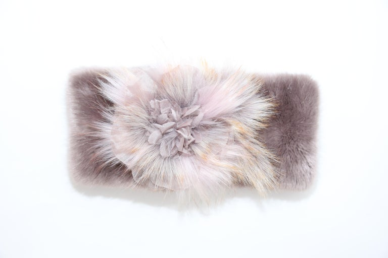 Pelush Faux Fur Scarfs And Hats - Set of 5 - One Size - Get One Free! For Sale 1