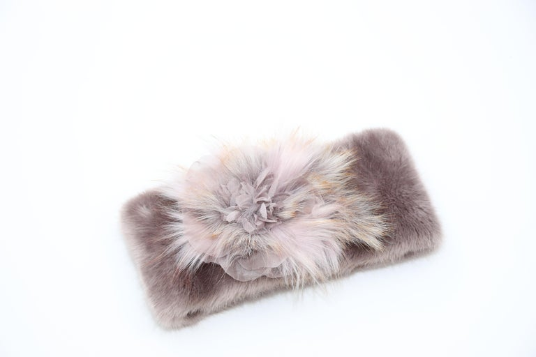 Pelush Faux Fur Scarfs And Hats - Set of 5 - One Size - Get One Free! For Sale 2