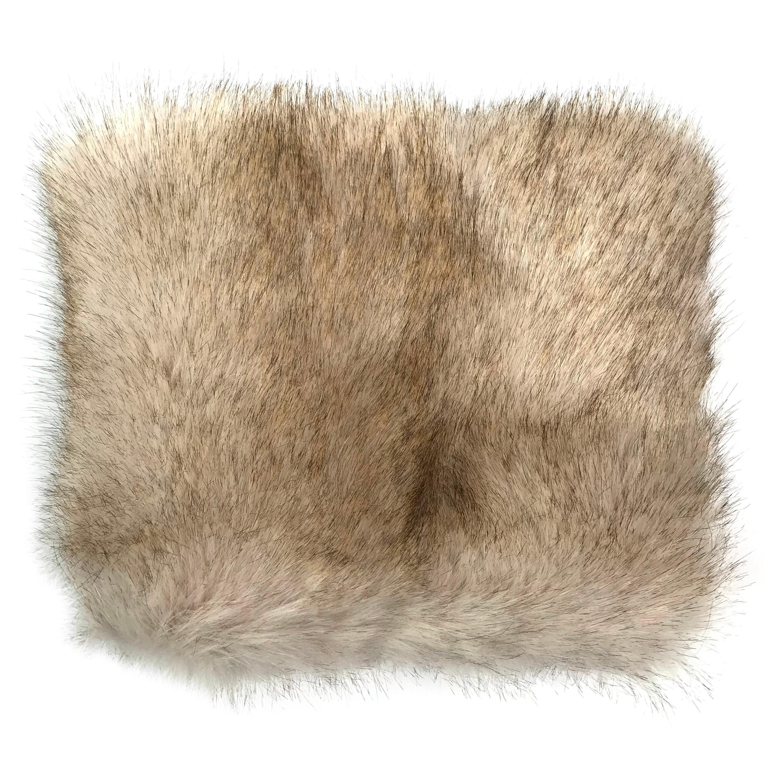 Pelush Oversized Faux Coyote Hat - One Size