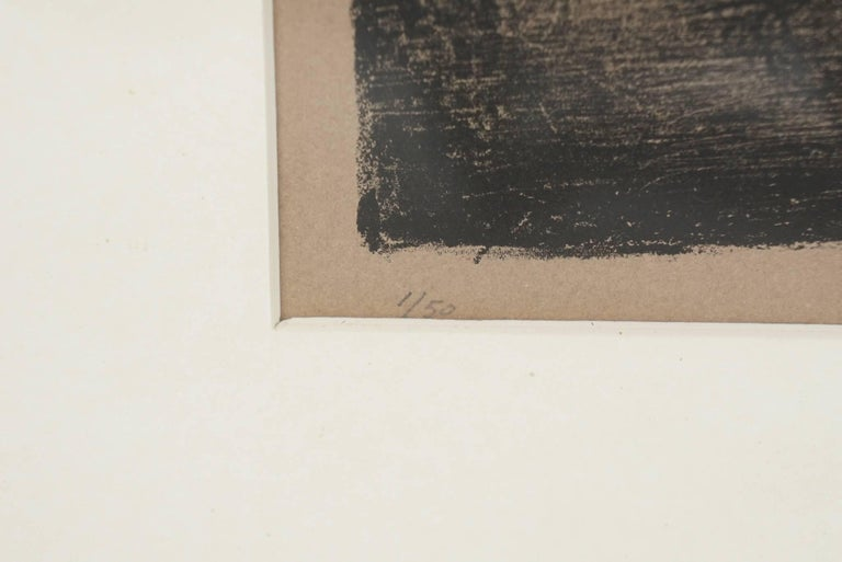 20th Century Pencil Signed and Numbered Rouault Lithograph