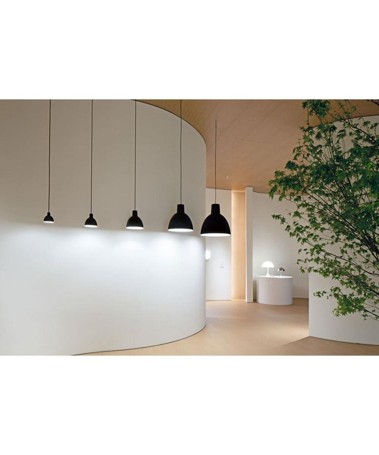 Metal Pendant 120-Light by Louis Poulsen For Sale