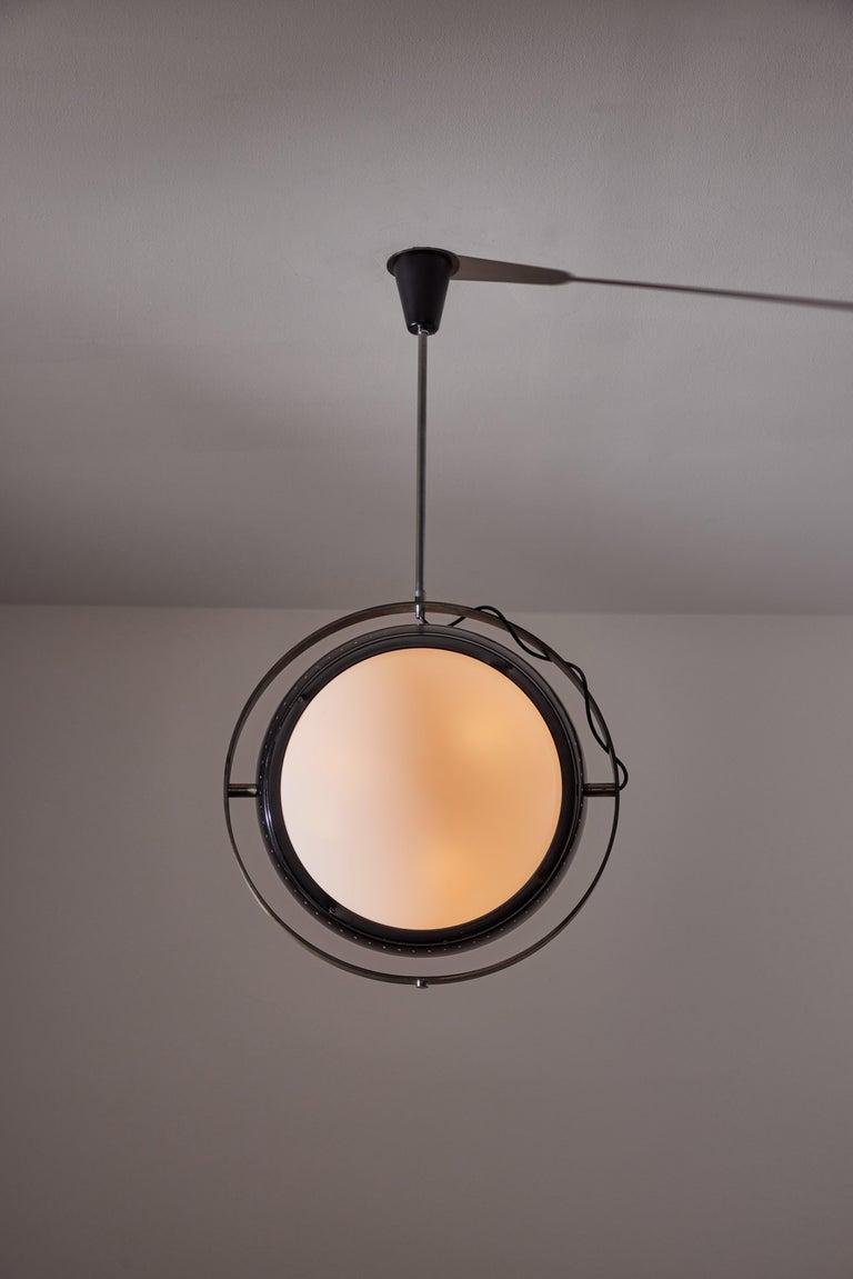 Mid-Century Modern Pendant by Oscar Torlasco