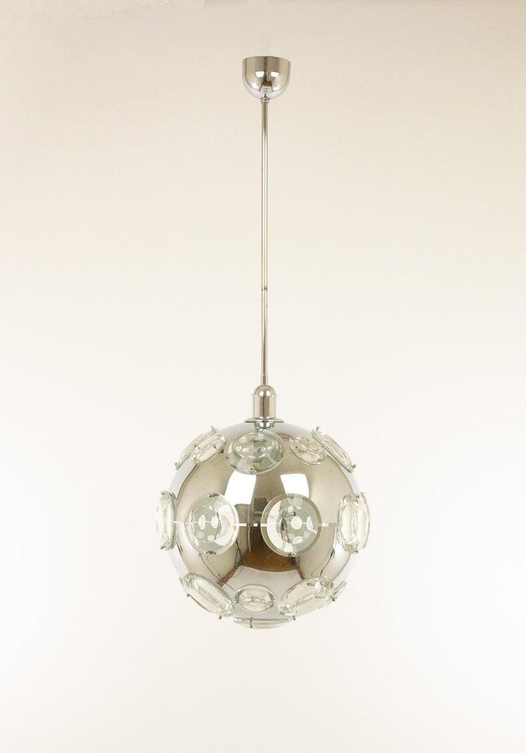 Mid-Century Modern Pendant by Oscar Torlasco for Stilkronen, 1960s For Sale