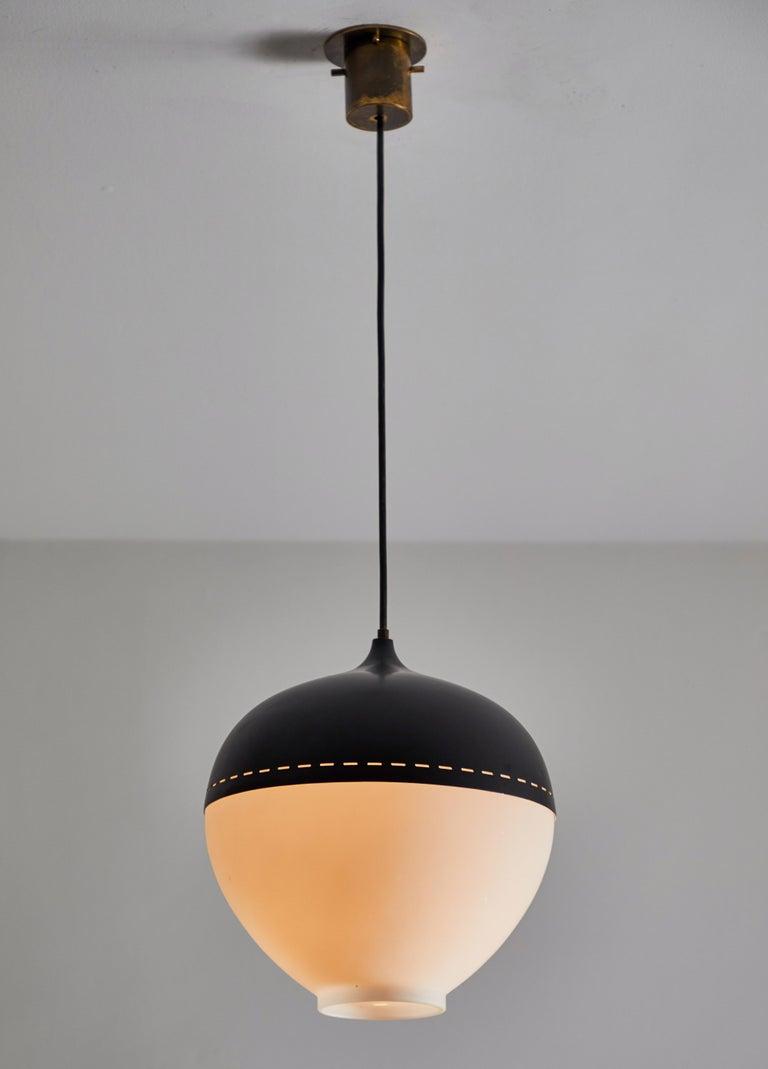 Mid-Century Modern Pendant by Stilnovo For Sale