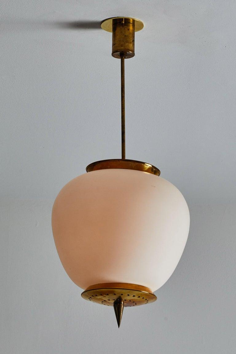 Italian Pendant by Stilnovo For Sale
