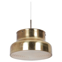 Pendant Ceiling Lamp Bumling in Brass by Anders Pehrson for Ateljé Lyktan