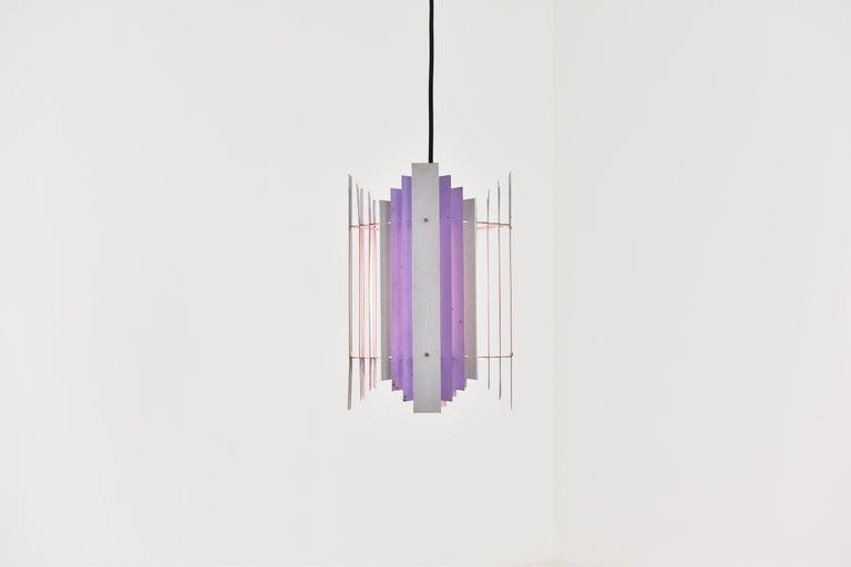 Danish Pendant Designed by Thue Christensen for Nordisk Solar, Denmark, 1960s For Sale