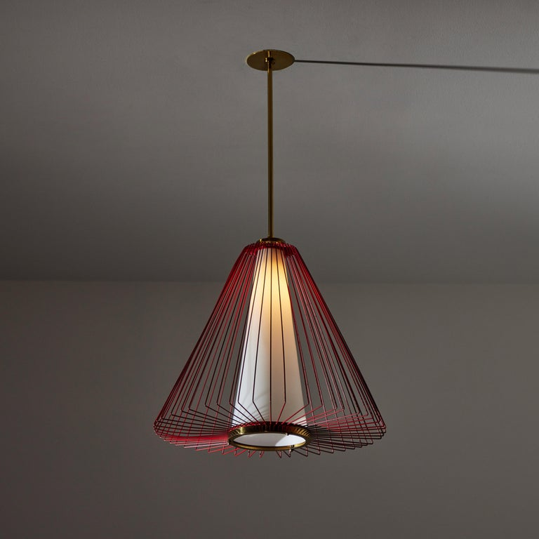 Mid-Century Modern Pendant in the Style of Arredoluce For Sale