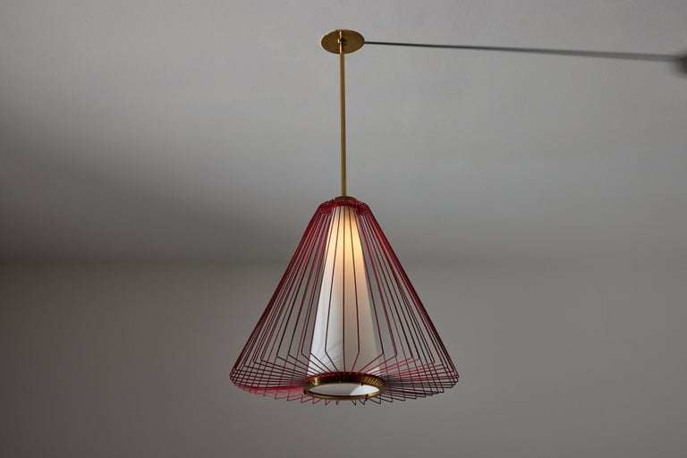Mid-20th Century Pendant in the Style of Arredoluce For Sale