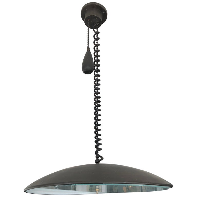 Pendant Lamp after Paavo Tynell For Sale