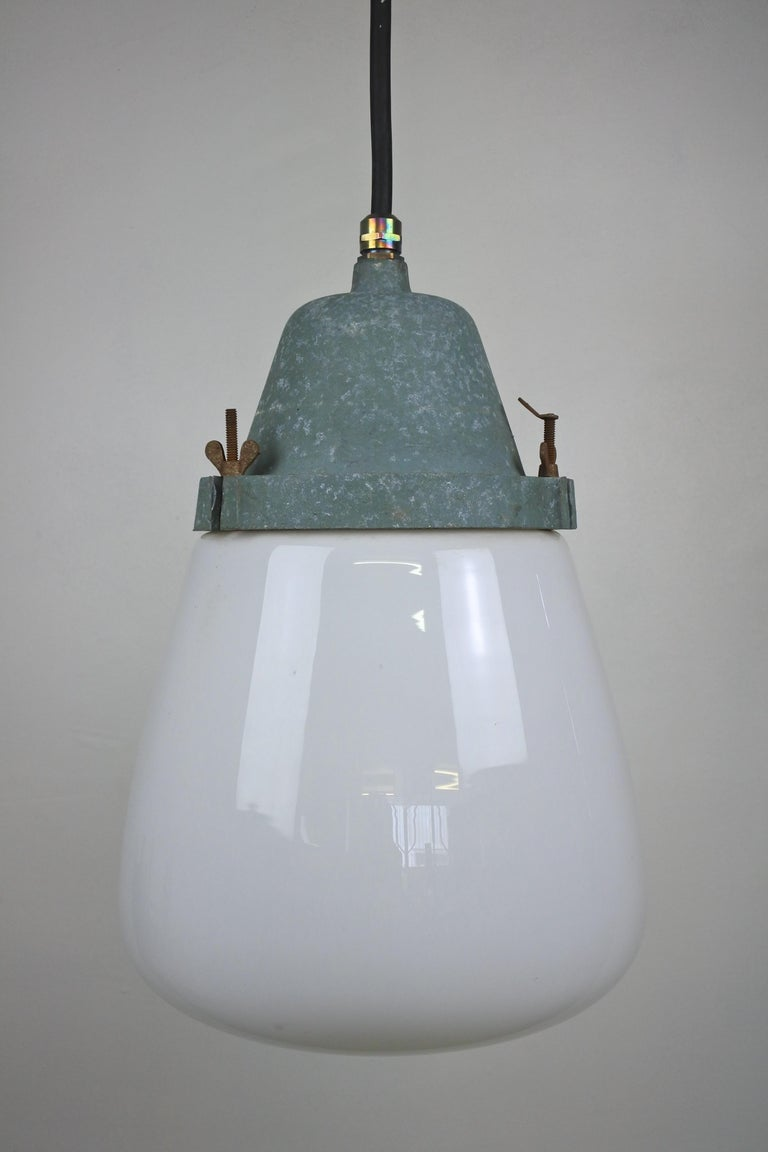 Finnish Pendant Lamp by Paavo Tynell & Taito, Finland 1930s For Sale