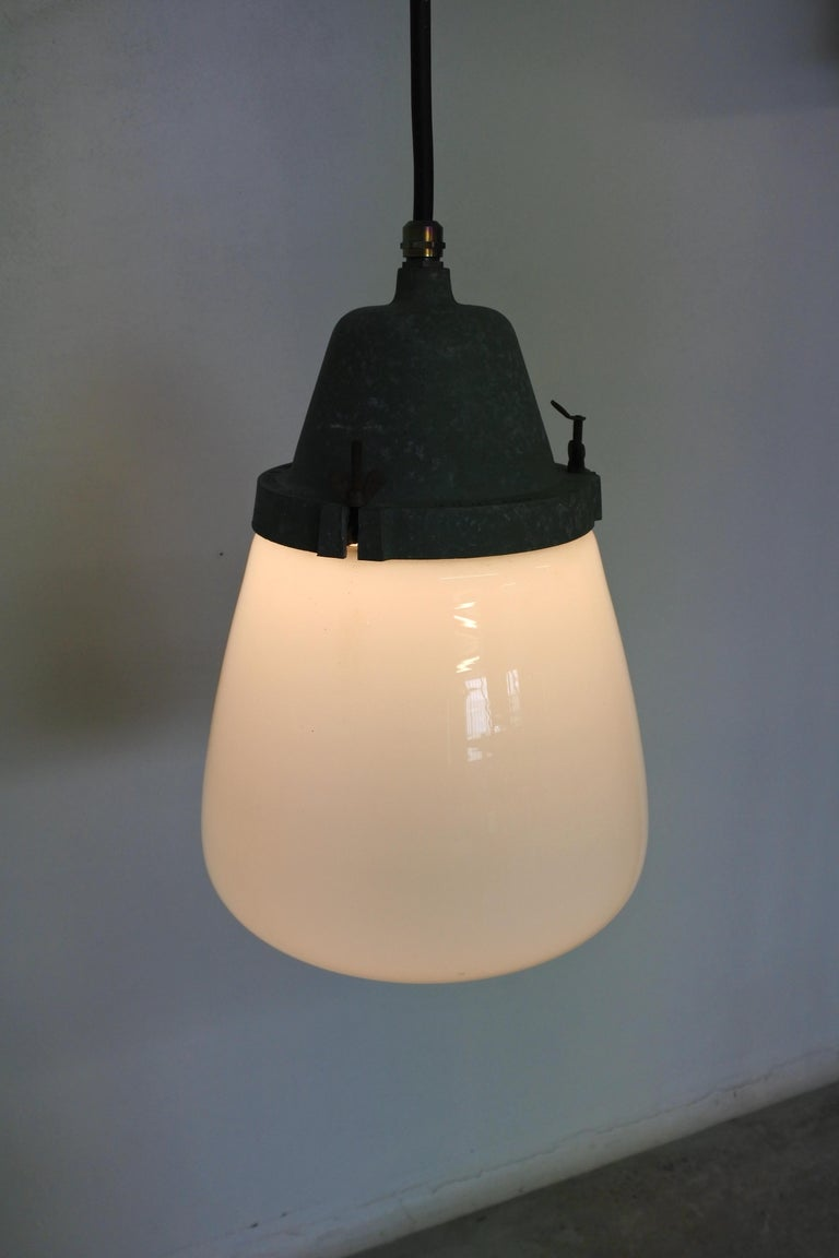 Pendant Lamp by Paavo Tynell & Taito, Finland 1930s In Good Condition For Sale In La Teste De Buch, FR