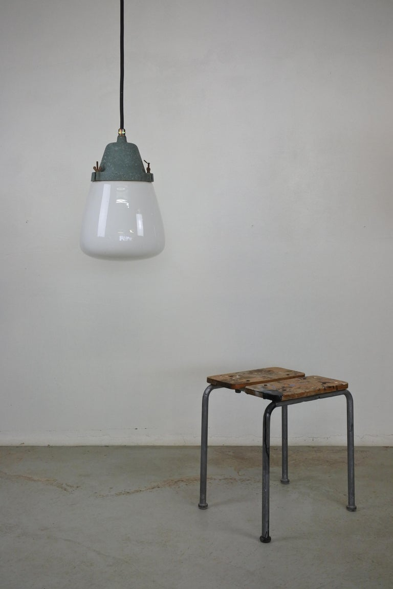 Mid-20th Century Pendant Lamp by Paavo Tynell & Taito, Finland 1930s For Sale