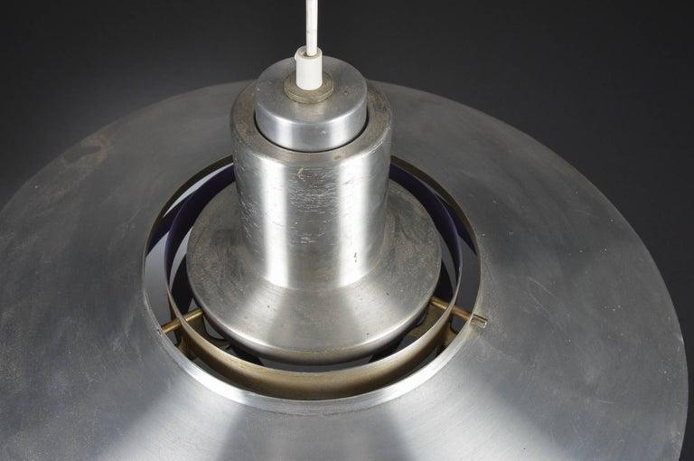 Pendant Lamp by Preben Fabricius & Jørgen Kastholm for Nordisk Solar For Sale 1