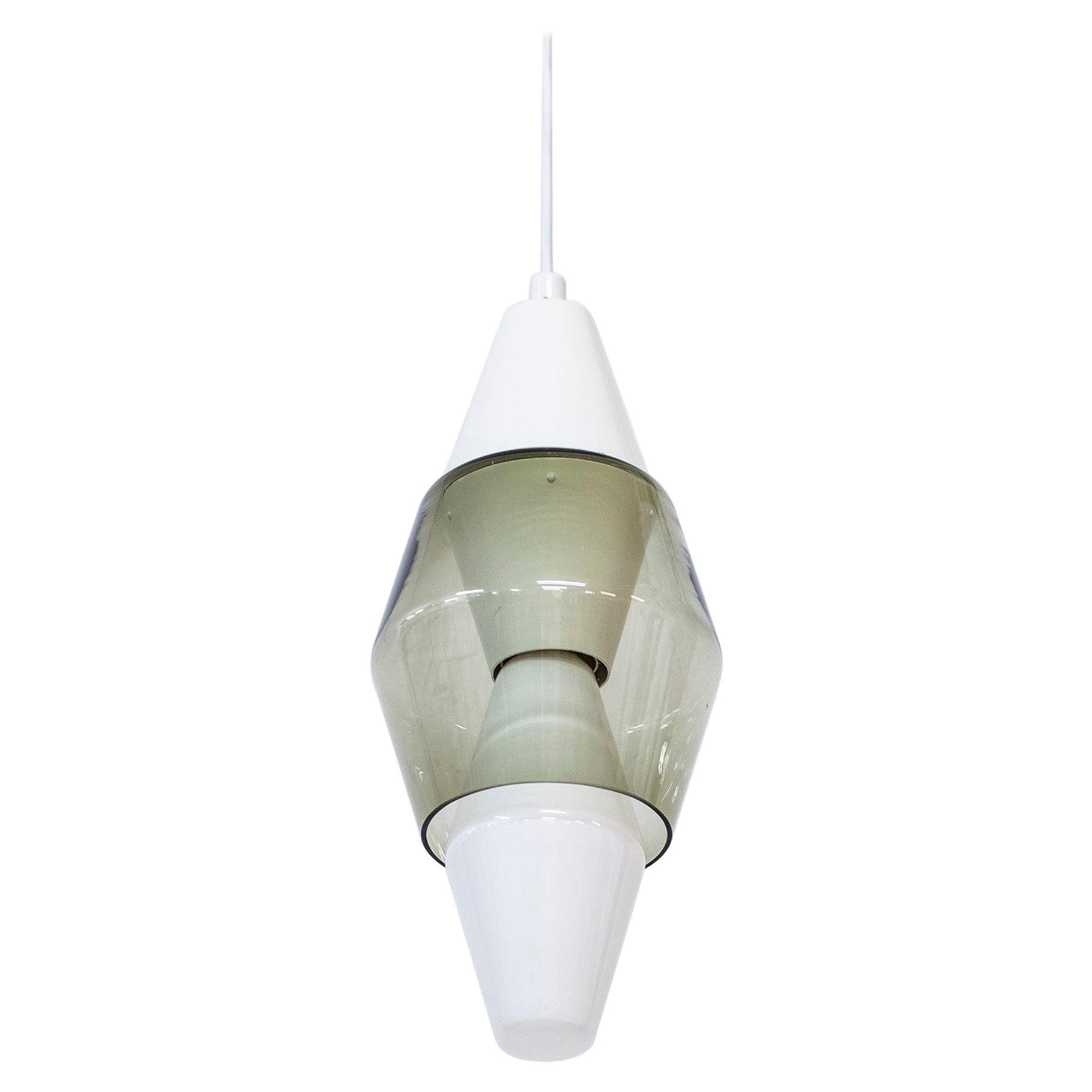 """Pendant Lamp """"K2-136"""" by Tapio Wirkkala, Idman, Iittala, Finland, 1960s"""