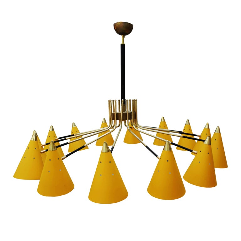 Pendant Lamp Midcentury Style For Sale