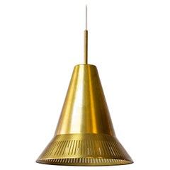 "Pendant Lamp Model ""100"" by Hans Bergström, Ateljé Lyktan, 1940s"