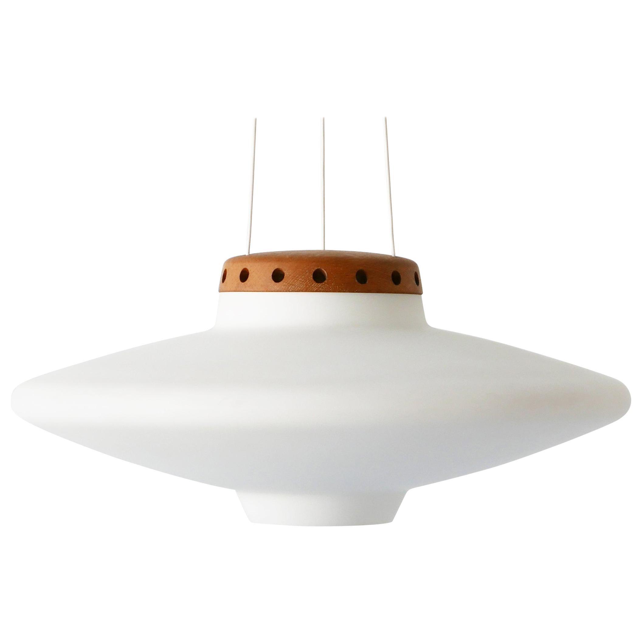 Pendant Lamp Ufo by Uno & Östen Kristiansson, 1950s for Luxus Vittsjö, Sweden