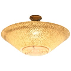 Pendant Lamps with Fiberglass Shade